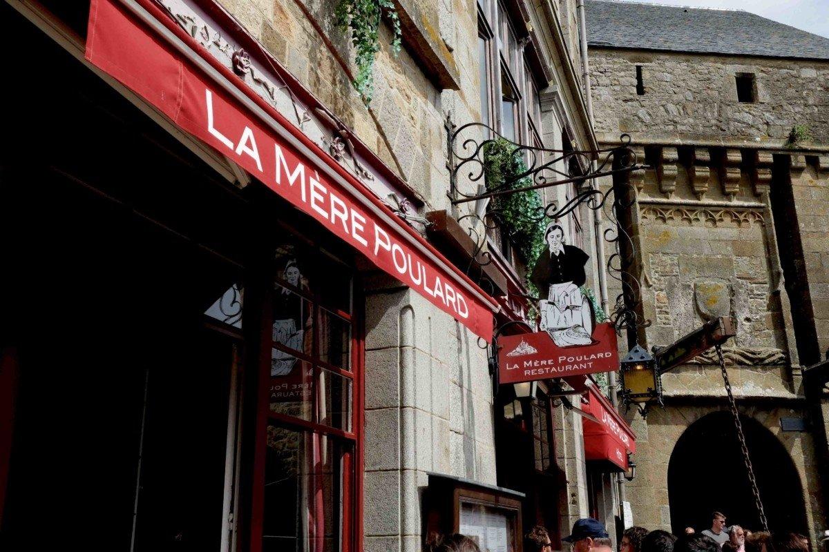 La Mere Poulard Le Mont Saint Michel