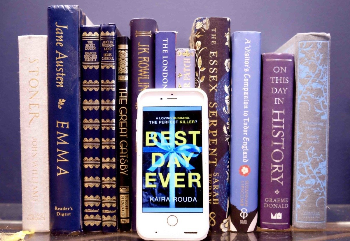 The Best day ever book book on shelf
