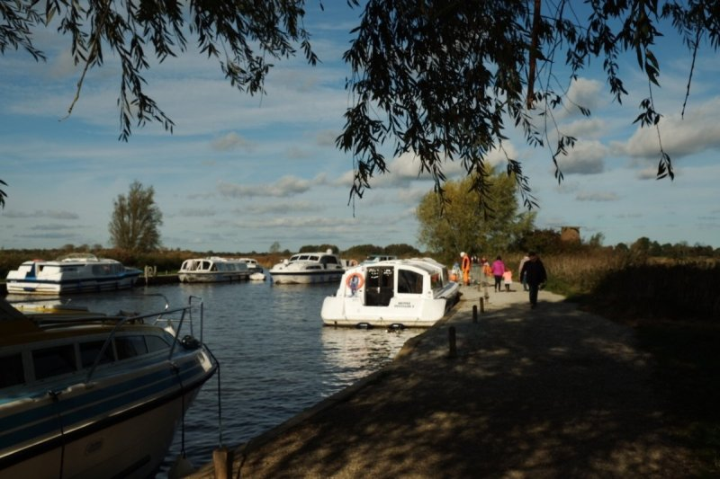 A four day trip on the Norfolk Broads