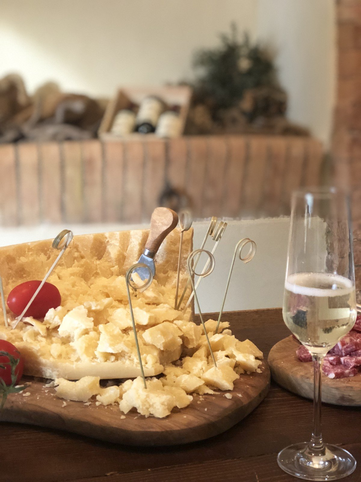 parmesan cheese Country Relais & Spa Le Capanne Volterra Tuscan kitchen