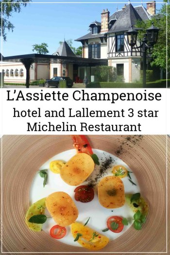 For a luxurious weekend try L'Assiette Champenoise hotel with its 3 star michelinrestaurant.We love to visit the champagne region often and taste some of the 300 million bottles of Champagne produced each year.As an extra special treat we often choose to stay at L'Assiette Champenoise which is situated just outside the centre of Reims in Tinqueux. Fromhere you can visit champagne houses such as Moët and Gosset to name but a few.Furthermore as an added bonus of staying at the L'Assiette Champenoise is the chance to visit Krug which is not open to thegeneral public.