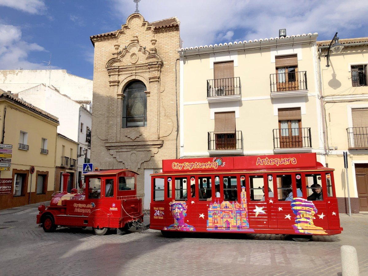 City Sightseeing train Antequera