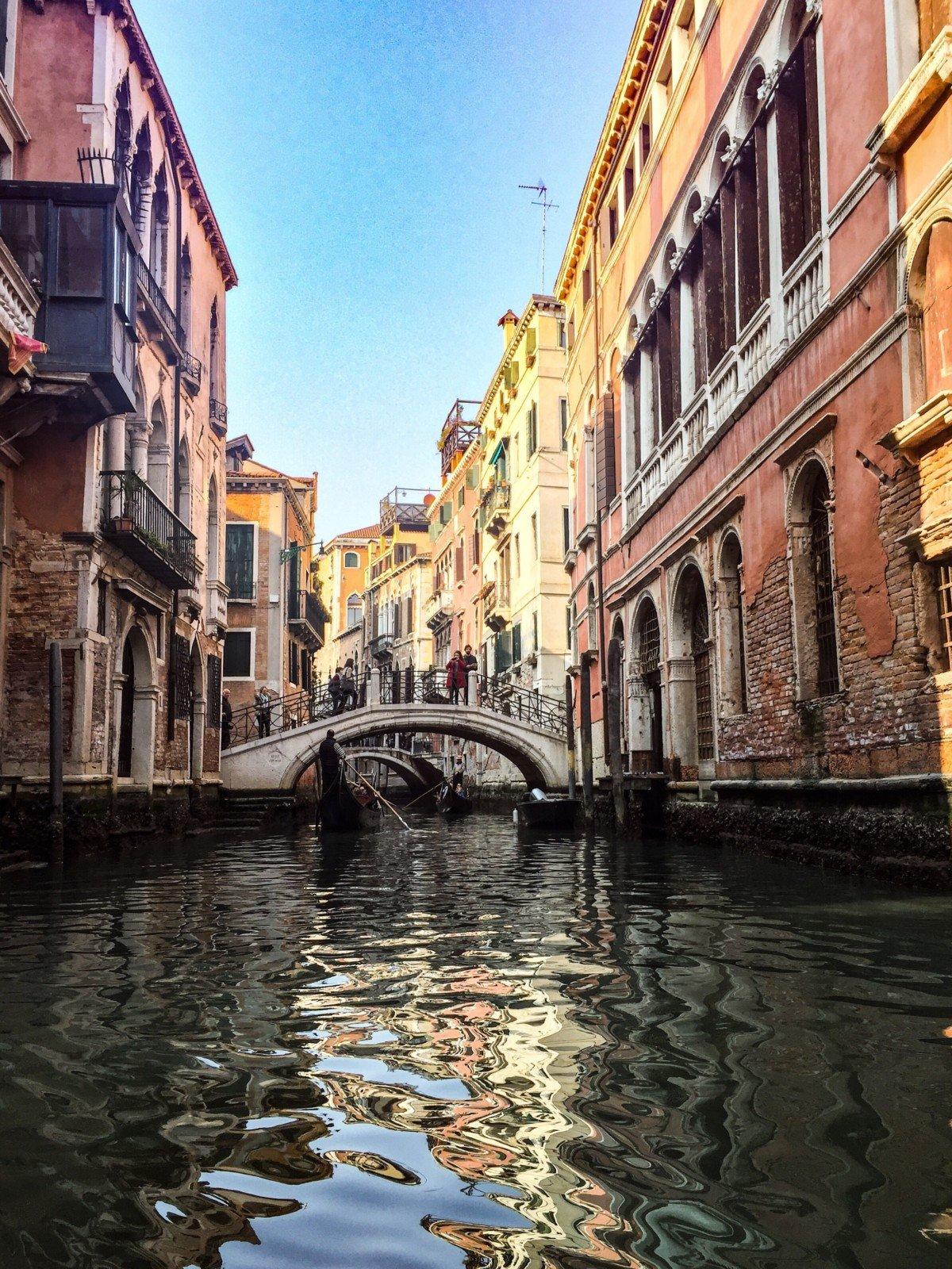 A Venice river cruise