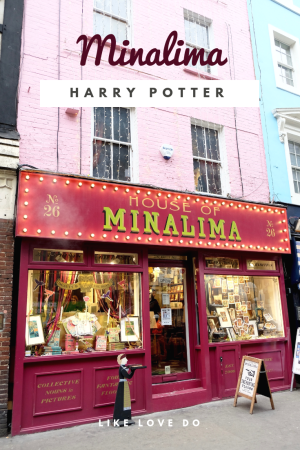 Mina lima the ultimate Harry potter stop in London for potter fans in Greek street