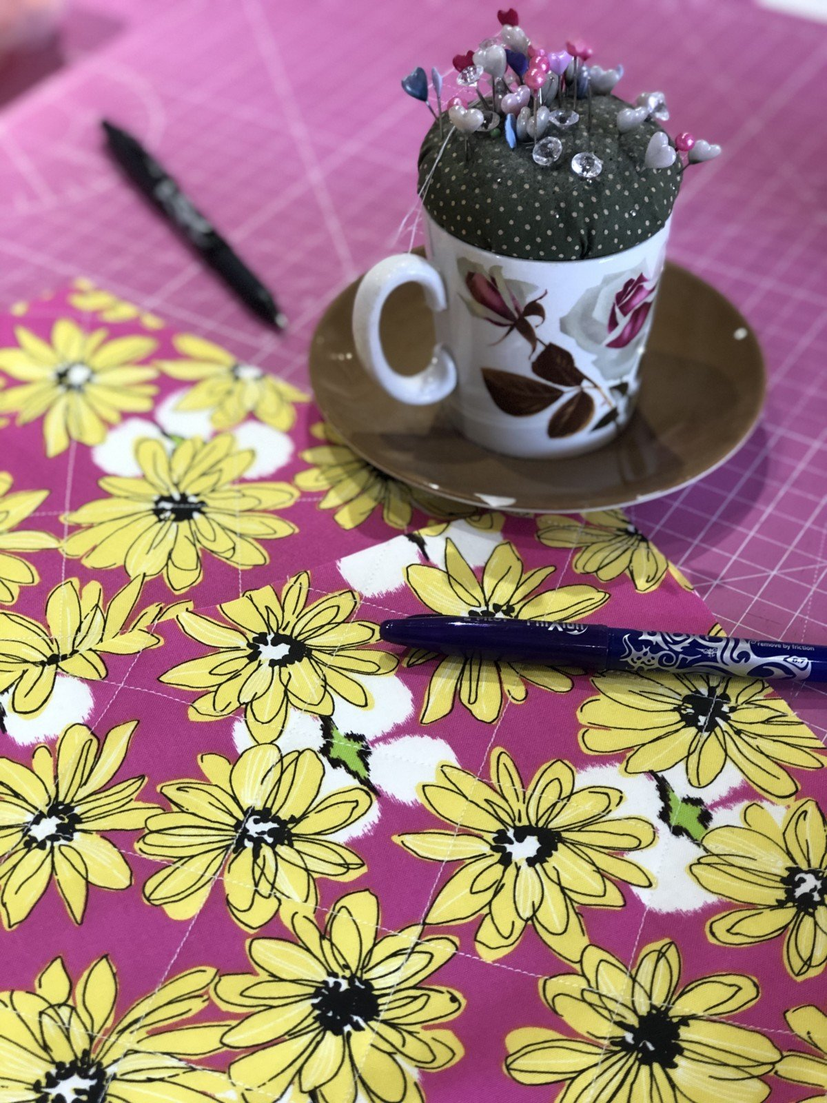 Beautiful things do a 3 week sewing course which you can also choose to take in one day. I could not get all three dates in my diary so I opted for the one day intensive course. All three classes in one full day perfect for those with not enough hours in a day.
