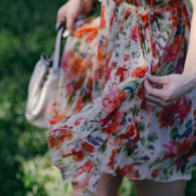 Spring Dress, Flowing Breeze