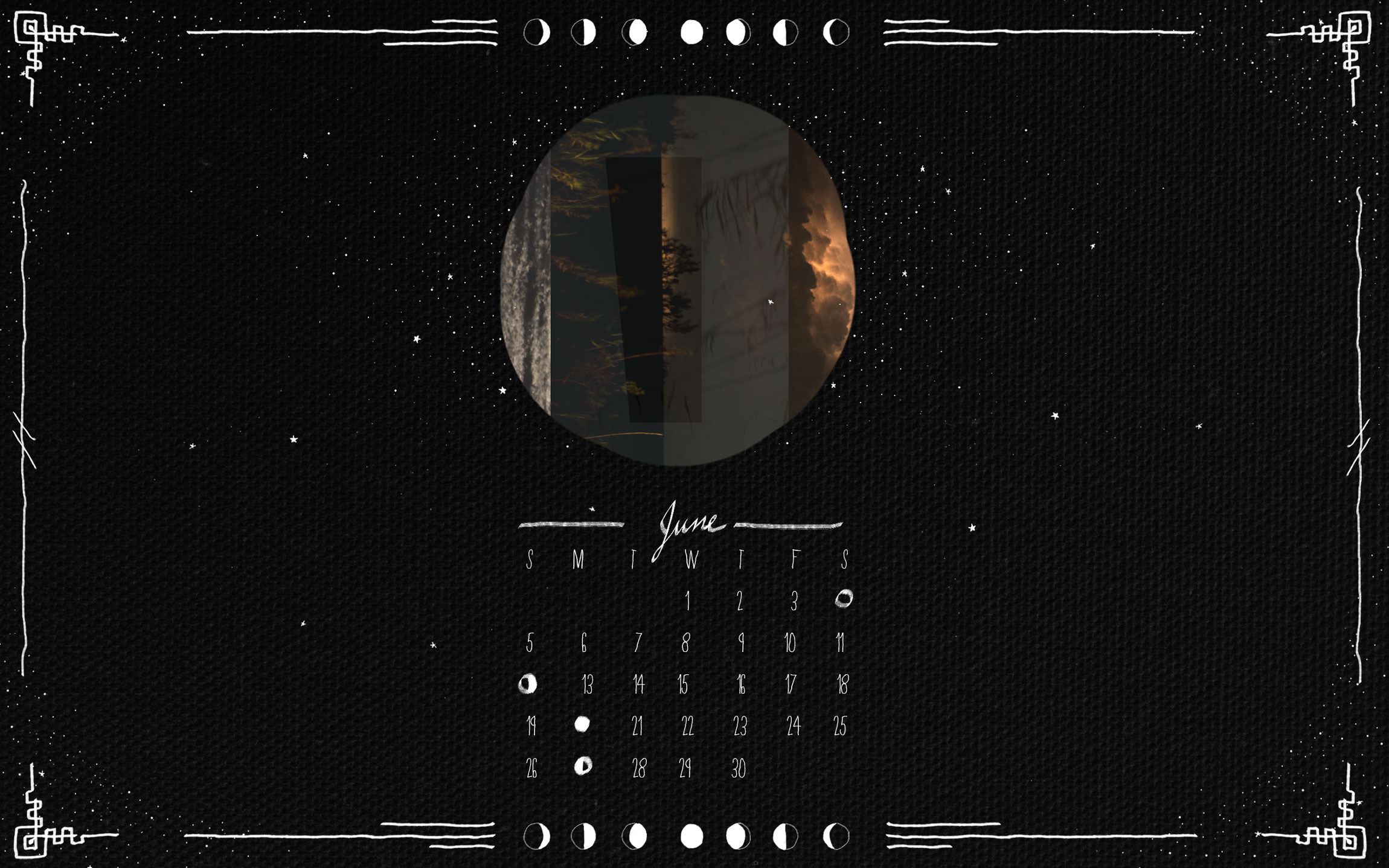 june 2016moon calendar