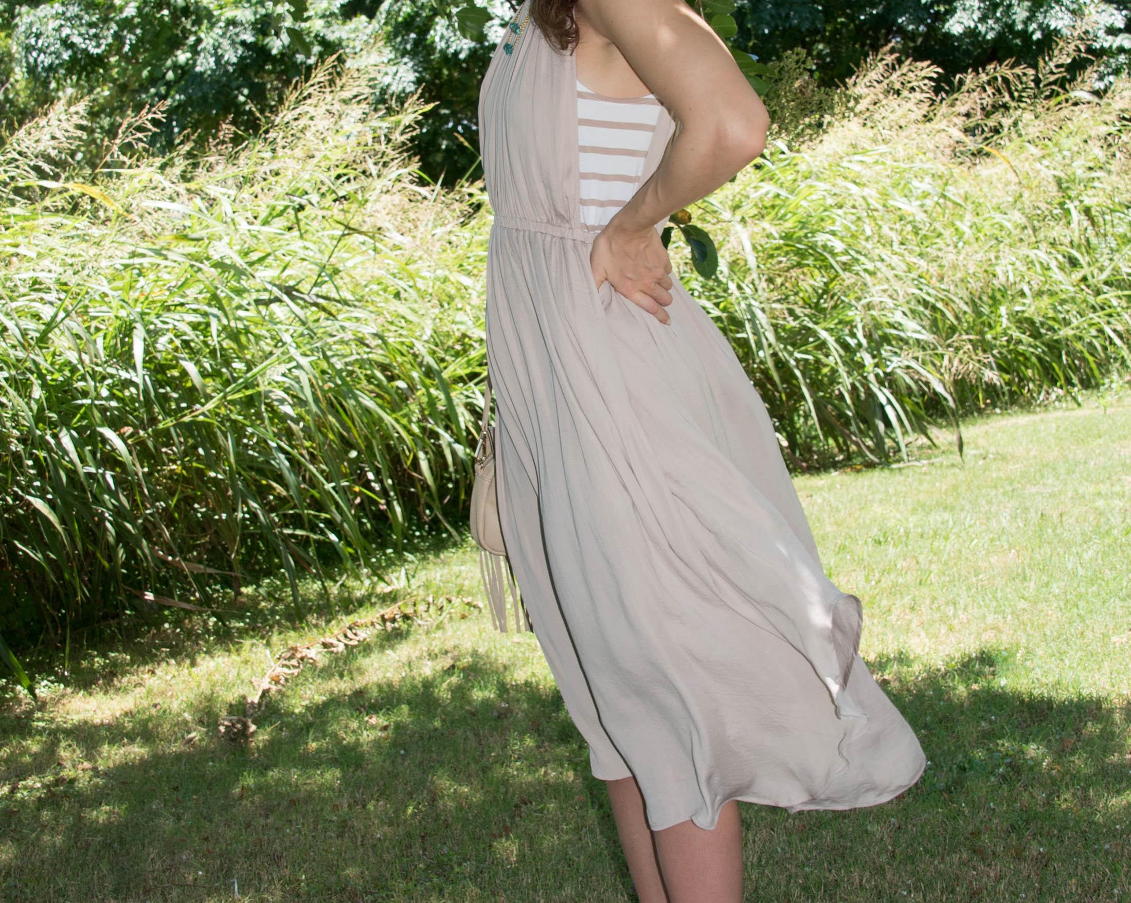 flowy dress for summer