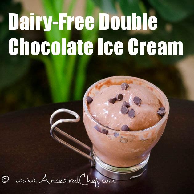 paleo double chocolate ice cream recipe