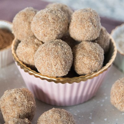 Paleo Pumpkin Spice Cake Balls Recipe
