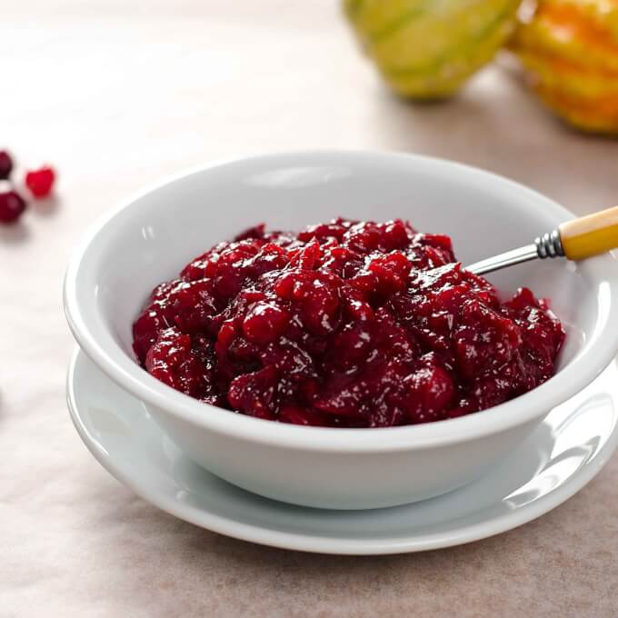 3 Ingredient Paleo Cranberry Sauce by Cook Eat Paleo