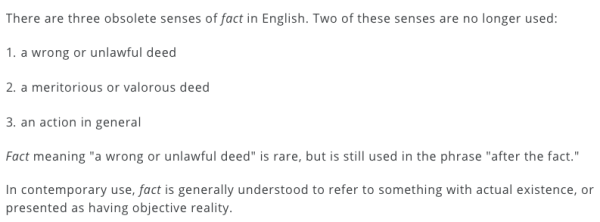 merriam webster facts