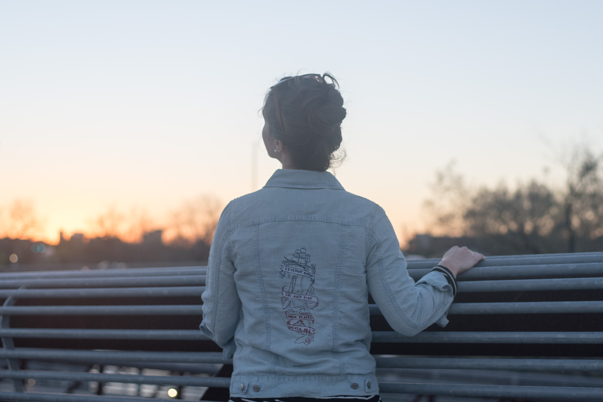 denim jacket embroidery