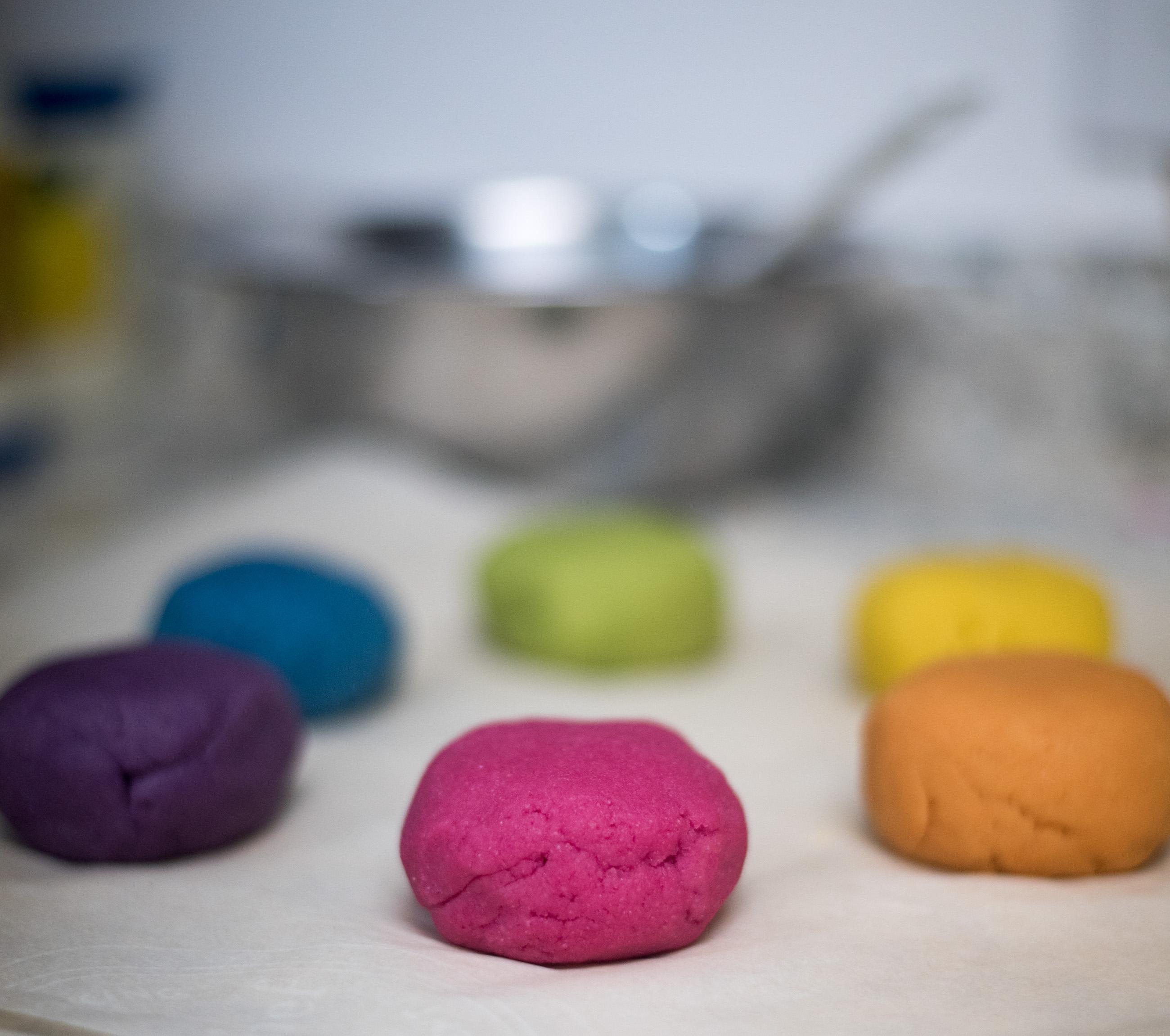 paleo rainbow bagel