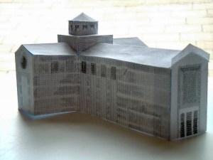 model needlepoint design