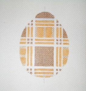 diy cross stitch pattern egg
