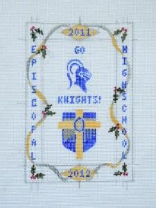 cross stitch canvas diy