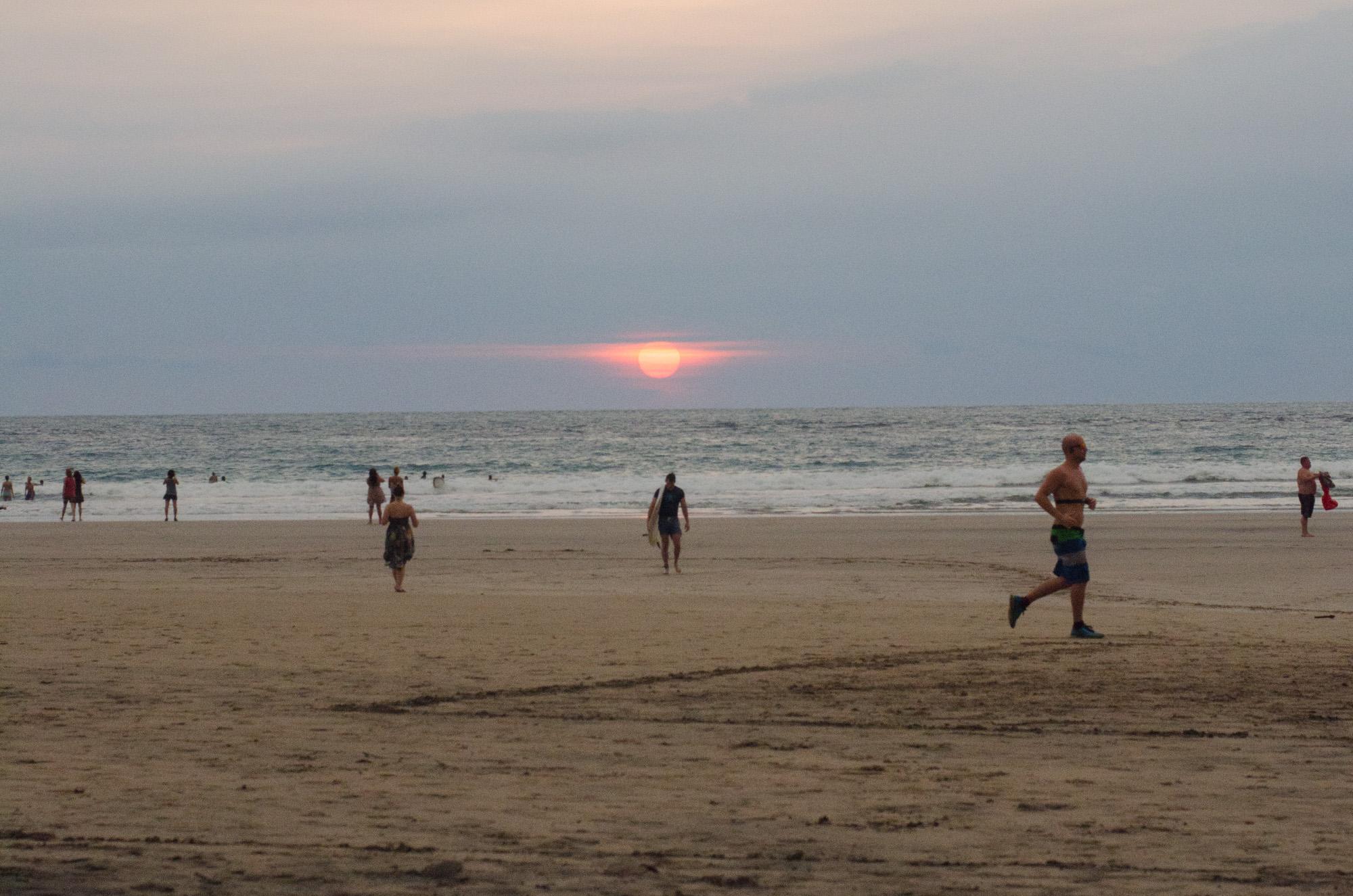sunset tamarindo