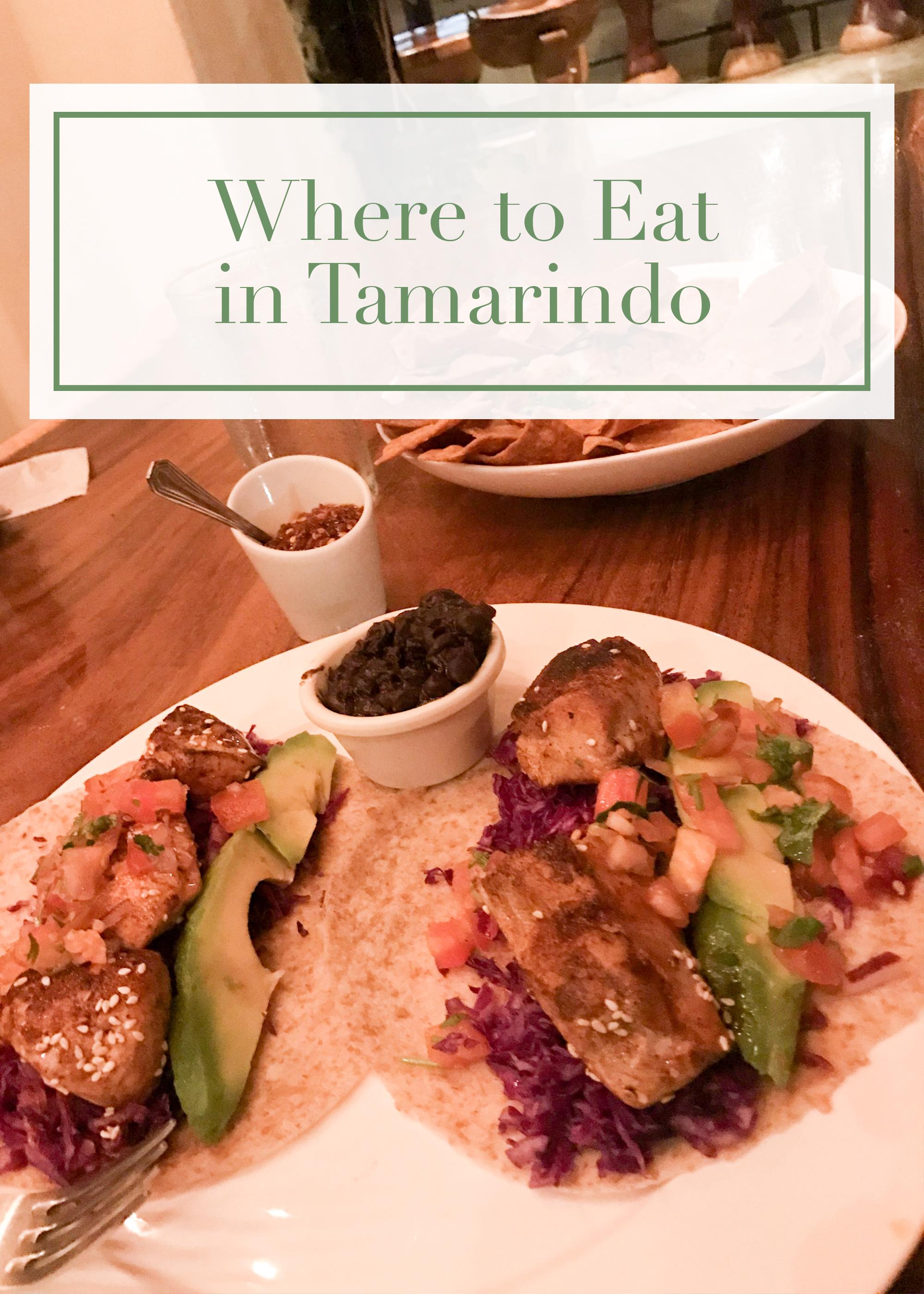 where eat tamarindo