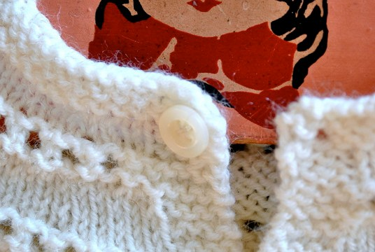 Knitting along with my book!