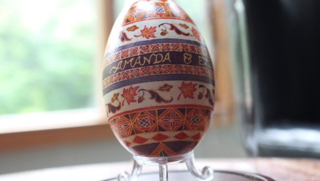 Another Wedding Gift Pysanky