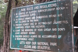 Park guidelines