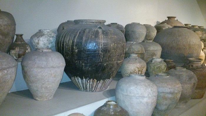 Spanish, Martaban, Siamese, and Dragon Pots