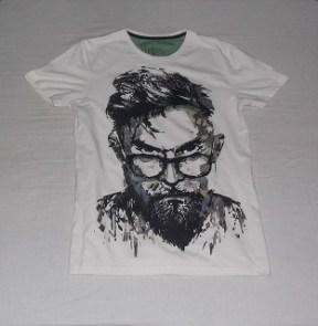 Turtledove Shirt with Graphics, Penshoppe