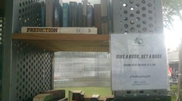 """Give a book, get a book"""