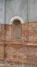 Left niche of Campo Santo