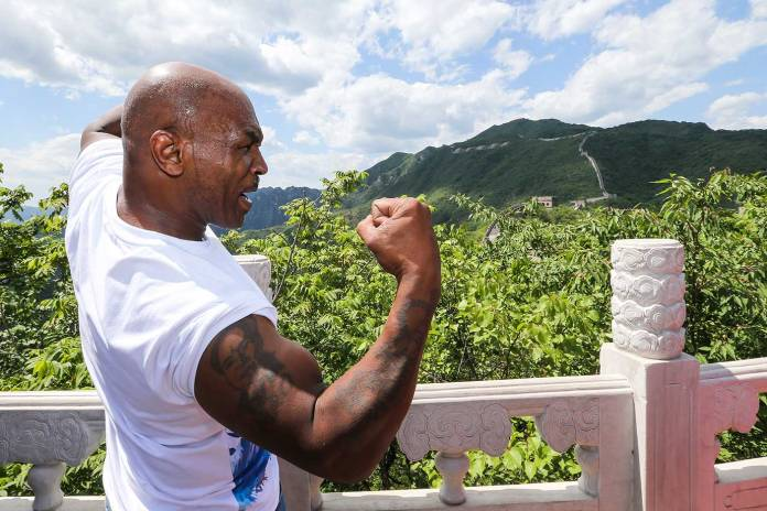 mike tyson great wall of chyna