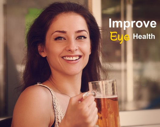 beer for improve your eye health
