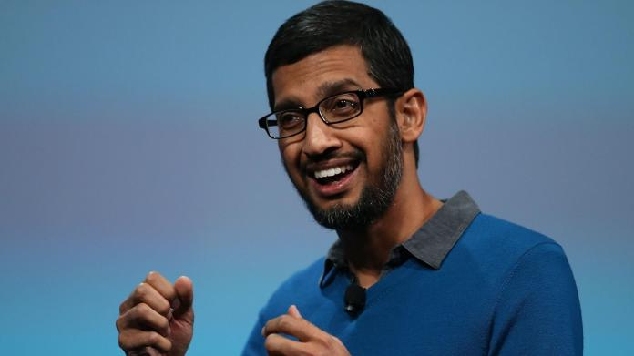 sunder pichai ceo of google