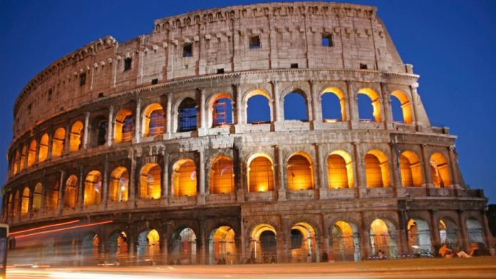 The Roman Colosseum (Rome)