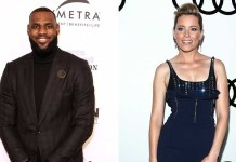 lebron james elizabeth banks