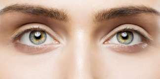 woman brown eyes