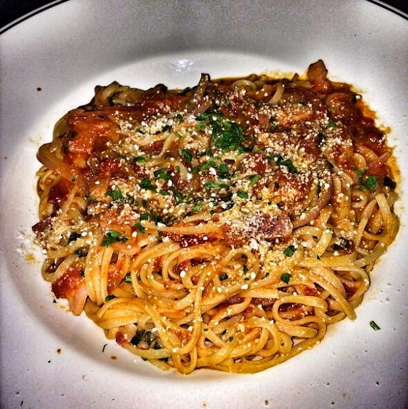 Spaghettoni All'Amatriciana