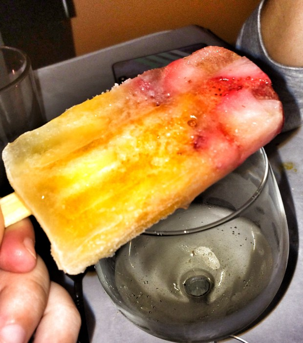 Sangria Ice Pops