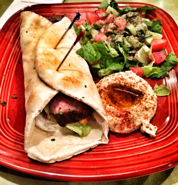 Rosemary Beef Pita Pocket