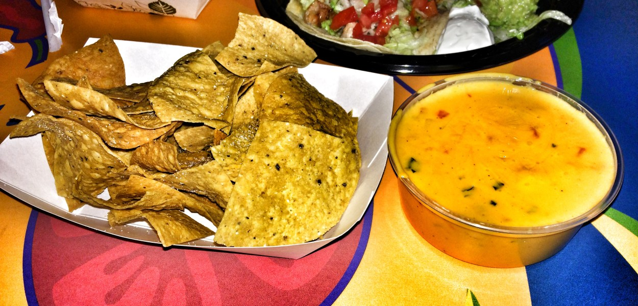Chips and Fiesta Queso Dip