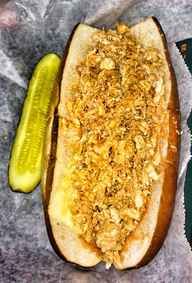 Buffalo Chicken Cheesesteak