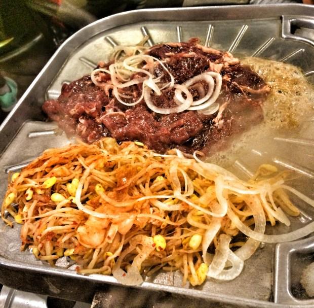 Bulgogi Cooking