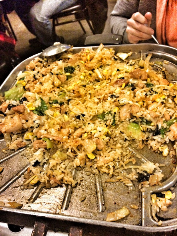 Chicken with Fried Rice