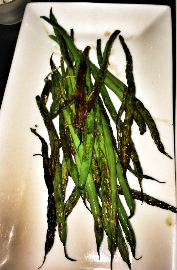 Grilled Haricot Vert