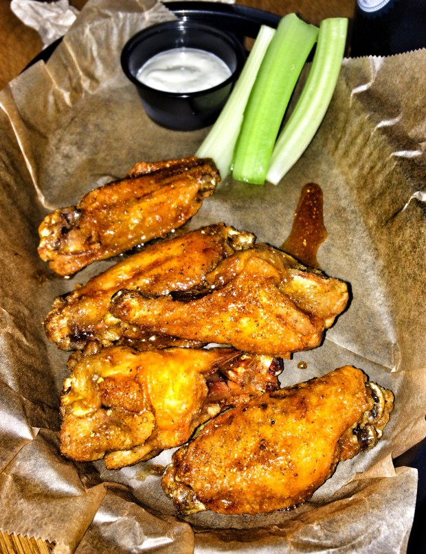 Honey Old Bay Wings