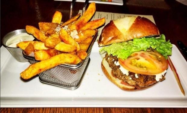 French Quarter Burger