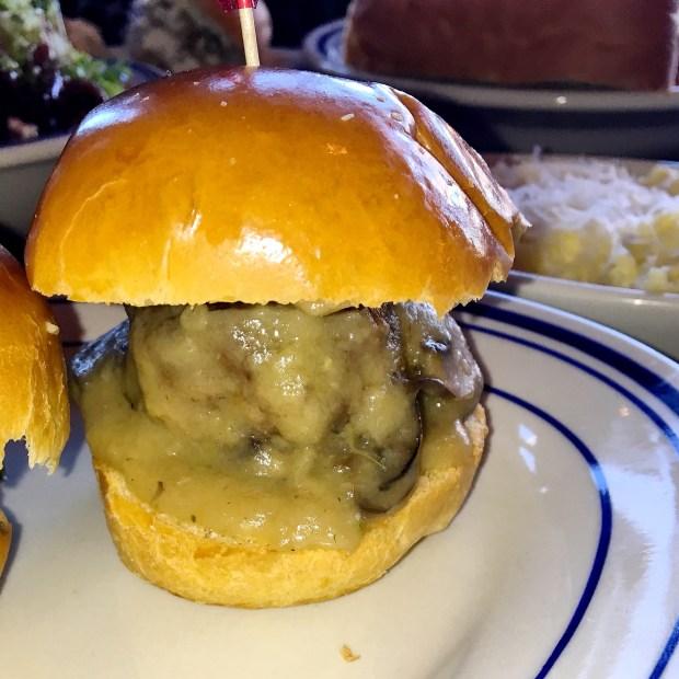 Classic Meatball with Mushroom Gravy