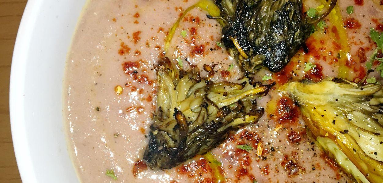 Purple Cauliflower Soup