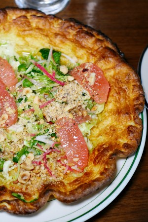 Spanish Manchego & Grapefruit Dutch Baby Pancake