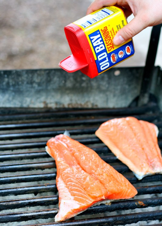 Salmon, Sprinkled with Old Bay